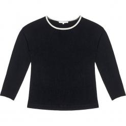 Sweter kaszmirowy w kolorze czarnym. Czarne swetry klasyczne damskie marki Ateliers de la Maille, z kaszmiru, z okrągłym kołnierzem. W wyprzedaży za 545,95 zł.
