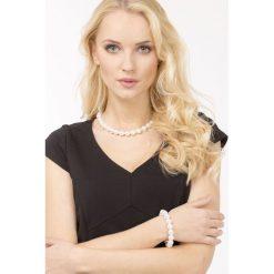 Naszyjniki damskie: Naszyjnik z perłowymi koralami II
