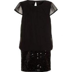 Sukienki dziewczęce z falbanami: Sisley DRESS Sukienka koktajlowa black