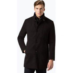 Płaszcze męskie: Finshley & Harding - Płaszcz męski, czarny