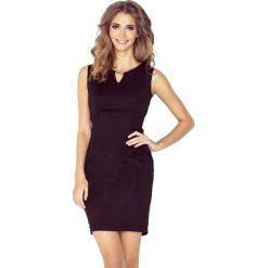 Patrizia Elegancka sukienka z klamerką - CZARNA. Czarne sukienki balowe marki morimia, s, z materiału. Za 136,99 zł.