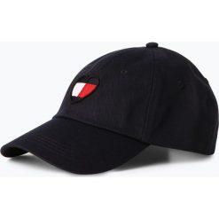 Czapki damskie: Tommy Jeans - Damska czapka z daszkiem, niebieski