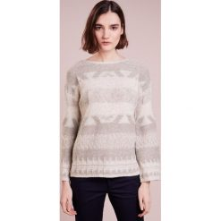 Swetry klasyczne damskie: Polo Ralph Lauren Sweter tan multi
