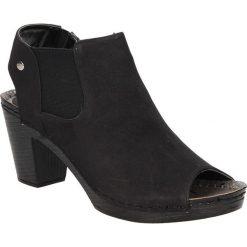 Sandały na słupku Jezzi SA19-21. Czarne sandały damskie na słupku marki Jezzi. Za 79,99 zł.