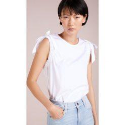 BOSS CASUAL CITRAVEL Bluzka white. Białe bluzki damskie BOSS Casual, z bawełny, casualowe. Za 379,00 zł.