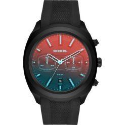 Zegarek DIESEL - Tumbler DZ4493 Black/Black. Czarne zegarki męskie Diesel. Za 1199,00 zł.