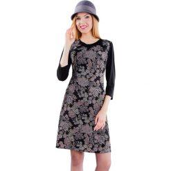 Sukienki hiszpanki: Sukienka w kolorze szaro-czarnym