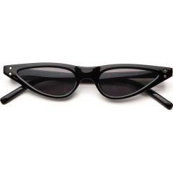 Livorno Black, okulary przeciwsłoneczne. Czarne okulary przeciwsłoneczne damskie lenonki Pakamera. Za 60,00 zł.