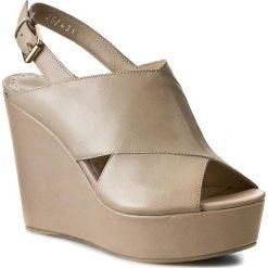 Rzymianki damskie: Sandały BRUNO PREMI – Poncho A1401X Naturale