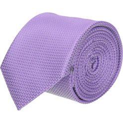 Krawat platinum fiolet classic 204. Różowe krawaty męskie marki Reserved. Za 49,00 zł.