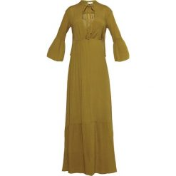 Długie sukienki: Intropia Długa sukienka olive