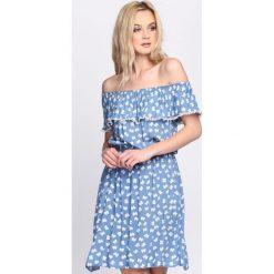 Jasnoniebieska Sukienka Wait For Love. Niebieskie sukienki marki Born2be, na lato, l. Za 59,99 zł.