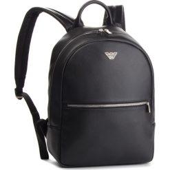 Plecak EMPORIO ARMANI - Y4O165 YLA0E 81072 Black. Czarne plecaki damskie Emporio Armani, z materiału, eleganckie. Za 979,00 zł.