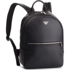 Plecak EMPORIO ARMANI - Y4O165 YLA0E 81072 Black. Czarne plecaki damskie marki Emporio Armani, z materiału, eleganckie. Za 979,00 zł.