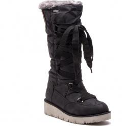 Śniegowce S.OLIVER - 5-26614-31 Black 001. Czarne śniegowce damskie S.Oliver, z materiału. Za 349,90 zł.