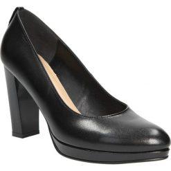 Czółenka na platformie Casu 266G. Czarne buty ślubne damskie marki Casu, na platformie. Za 159,99 zł.