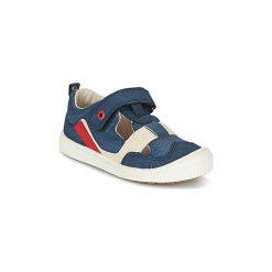 Sandały Dziecko  Kickers  ZIGUERO. Niebieskie sandały chłopięce Kickers. Za 207,20 zł.