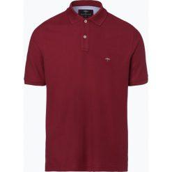 Fynch Hatton - Męska koszulka polo, czerwony. Czerwone koszulki polo Fynch-Hatton, m, z haftami, z bawełny. Za 179,95 zł.