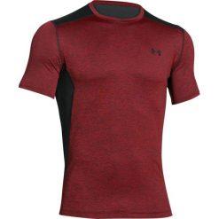 Under Armour Koszulka męska Raid Short Sleeve bordowo-czarna r. S (1257466-603). Szare koszulki sportowe męskie marki Under Armour, z elastanu, sportowe. Za 92,50 zł.