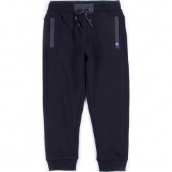 Spodnie. Czarne chinosy chłopięce BASIC BOY, z bawełny. Za 34,90 zł.