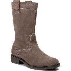 Kozaki LASOCKI - ORATA-01 Beżowy Ciemny. Brązowe buty zimowe damskie Lasocki, ze skóry, na obcasie. W wyprzedaży za 115,00 zł.