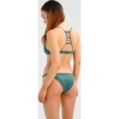 Stroje kąpielowe damskie: RVCA SOLID MEDIUM Dół od bikini mallard green