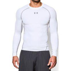 Under Armour Koszulka męska HG Armour LS  biała r. L (1257471 100). Szare koszulki sportowe męskie marki Under Armour, z elastanu, sportowe. Za 159,00 zł.