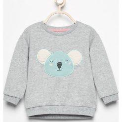 Bluza z naszywką - Jasny szar. Szare bluzy niemowlęce marki Reserved, z aplikacjami. Za 39,99 zł.