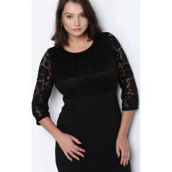 Czarna Sukienka Sleeping Beauty. Czarne sukienki hiszpanki Born2be, l, mini, oversize. Za 59,99 zł.