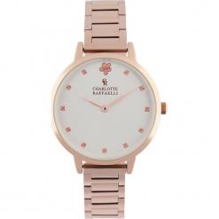 Zegarek kwarcowy w kolorze biało-różowozłotym. Żółte, analogowe zegarki damskie Stylowe zegarki, ze stali. W wyprzedaży za 139,95 zł.