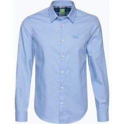 Koszule męskie na spinki: BOSS Athleisure – Koszula męska – C-Buster, niebieski