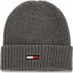 Czapka TOMMY JEANS - Tju Basic Rib Beanie AU0AU00300 050. Szare czapki zimowe damskie marki Calvin Klein Jeans, na zimę, z jeansu. Za 129,00 zł.