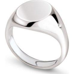 Biżuteria i zegarki męskie: PROMOCJA Pierścionek Srebrny - srebro 925, Diament