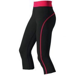 Spodnie damskie: Odlo Legginsy Tights 3/4 SHANA czarne r. XL