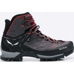 Salewa - Buty Ms Mtn Trainer Mid Gtx. Żółte buty trekkingowe męskie Salewa, z gore-texu, na sznurówki, outdoorowe, gore-tex. Za 949,90 zł.