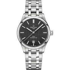 PROMOCJA ZEGAREK CERTINA DS 8 Powermatic 80 C033.407.11.051.00. Czarne, analogowe zegarki męskie CERTINA, szklane. W wyprzedaży za 2587,20 zł.