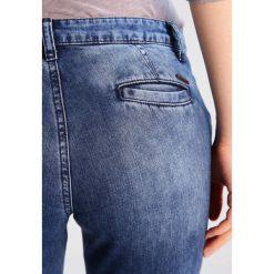 Boyfriendy damskie: Sisley Jeansy Straight Leg denim blue