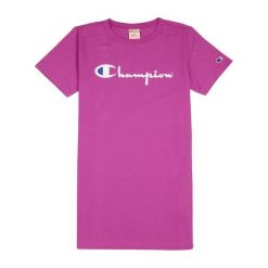 T-shirty damskie: CHAMPION Champion Crewneck T-Shirt Purple xs