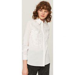 Koszula w stylu retro - Biały. Białe koszule damskie Reserved, retro. Za 139,99 zł.