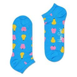 Skarpety Happy Socks Low Fruits (FRU05-6001). Niebieskie skarpetki męskie marki Happy Socks, z bawełny. Za 29,99 zł.