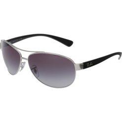 RayBan Okulary przeciwsłoneczne grey. Szare okulary przeciwsłoneczne męskie wayfarery marki Ray-Ban, z materiału. Za 619,00 zł.