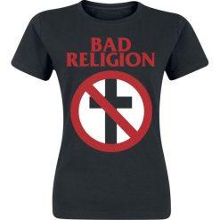 Bad Religion Cross Buster Koszulka damska czarny. Czarne t-shirty damskie Bad Religion, m. Za 74,90 zł.