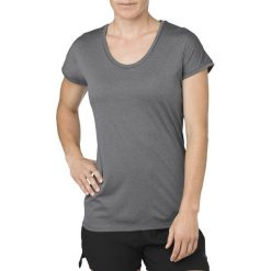 Asics Koszulka damska Capsleeve szara r. M (154541 0773). Szare bluzki damskie Asics, m. Za 128,88 zł.