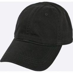 Lacoste - Czapka. Czarne czapki z daszkiem męskie Lacoste. W wyprzedaży za 149,90 zł.