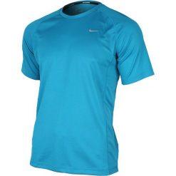 Nike Koszulka Miler SS UV niebieska r. XL (519698 413). Niebieskie koszulki sportowe męskie marki Nike, m. Za 102,38 zł.
