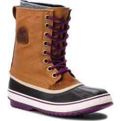 Śniegowce SOREL - 1964 Premium Cvs NL1717 Camel Brown/Marron Chameau 224. Brązowe buty zimowe damskie Sorel, z gumy. Za 569,99 zł.