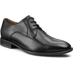 Półbuty GINO ROSSI - Rudi MPV407-K66-3V00-9900-0 Czarny 99. Czarne buty wizytowe męskie Gino Rossi, ze skóry. W wyprzedaży za 229,00 zł.
