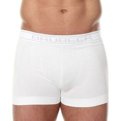 Majtki męskie: Brubeck Bokserki męskie Comfort Cotton białe r. L (BX00501A)