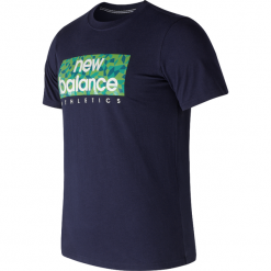 T-shirty męskie: New Balance AMT71636PGM