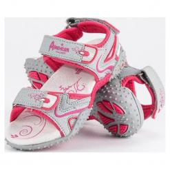 Dziewczęce sandały szare r. 30. Szare sandały dziewczęce American CLUB. Za 106,59 zł.